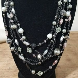 Multi-use layer necklace